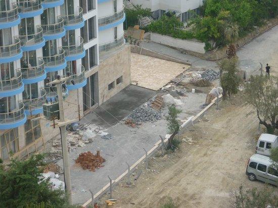 Vista Hill: vue depuis la chambre