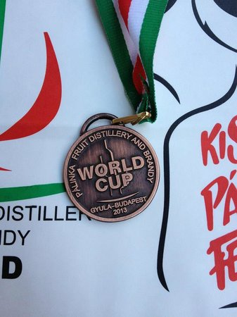 Phangan Spirit Distillery: The BRONZE MEDAL our spirit received at the 2013 World Spirit Competition, in Hungary!