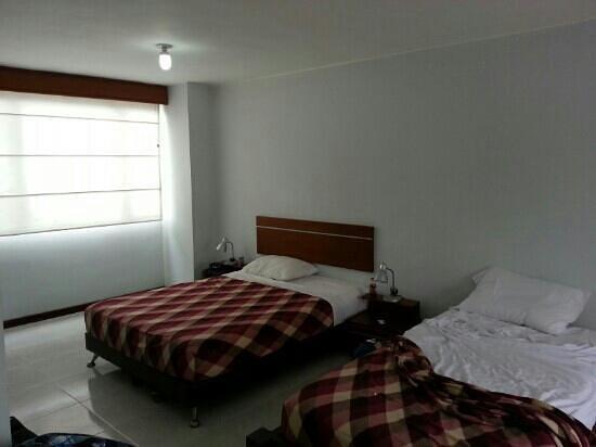 Aparta Hotel Cañaveralejo: camas