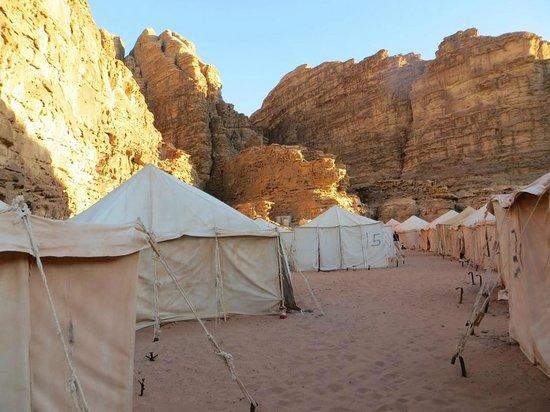 Rahayeb Desert Camp : Site
