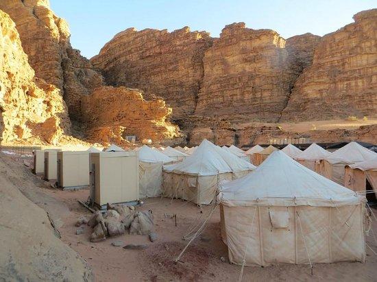 "Rahayeb Desert Camp : Les tentes ""VIP"""