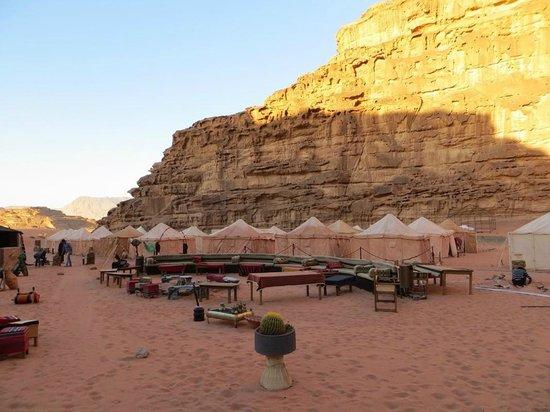 Rahayeb Desert Camp : Vue d'ensemble