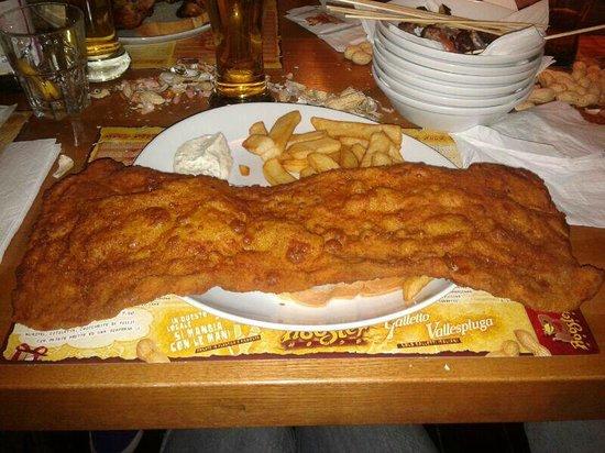 Rooster house: Orecchia Di Elefante+Patatine Fritte