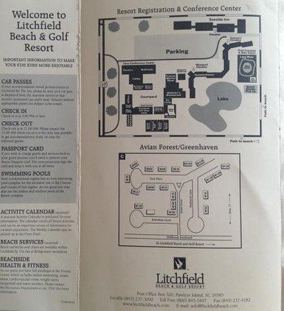 Litchfield Beach Golf Resort Map