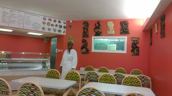 """Jollof Cafe : """"A Taste of the jungle"""""""