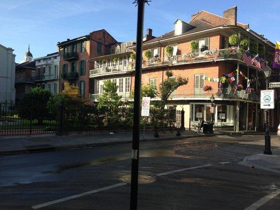 Bourbon Orleans Hotel: area outside hotel