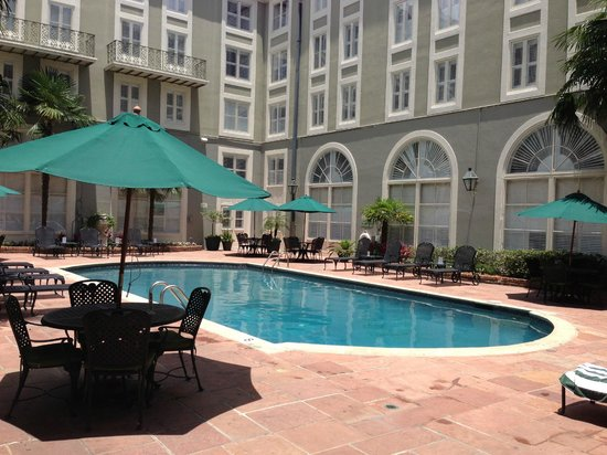 Bourbon Orleans Hotel: pool