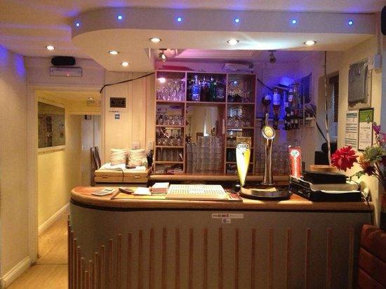 Taste of Bengal: Main drinks bar