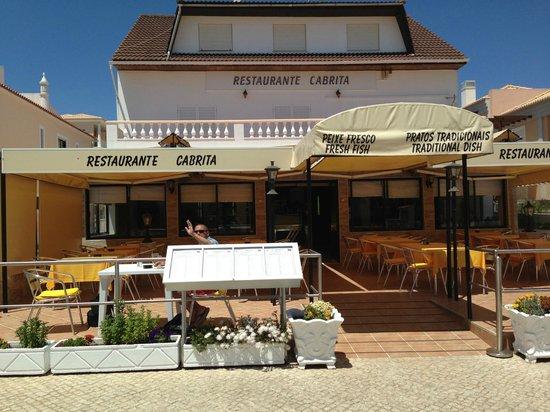 Restaurante Cabrita : Outdoor seating to soak up the sunshine