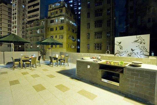 V Causeway Bay 2 Serviced Apartments: BBQ Facilities