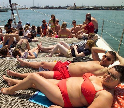 Creuers Costa Daurada: Sonnenbaden auf der Ocean Fly