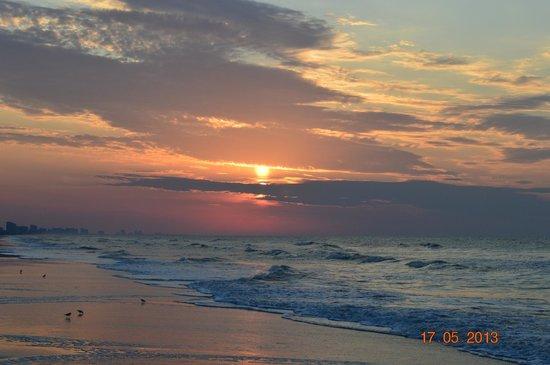 Sunrise at Sea Watch Resort