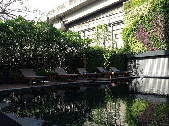 Arcadia Suites Bangkok: 游泳池