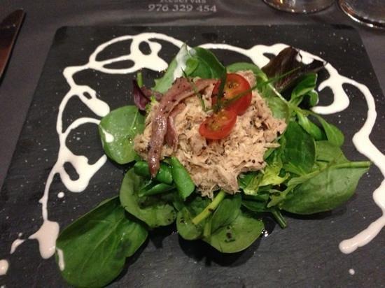 Casa Yesca: ensalada muy buena