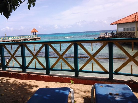 Franklyn D. Resort & Spa: view from a hammock away from everyone