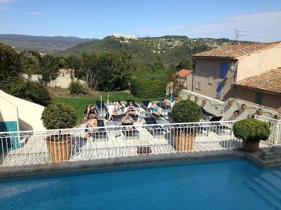 Hostellerie Berard : View from room