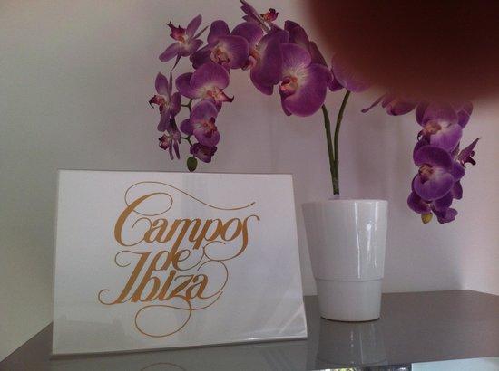 Can Curreu: En el SPA tienen productos de la marca Campos de Ibiza, que me encanta