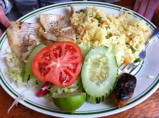 Cabana Restaurant : Haddock Plate at La Cabaña