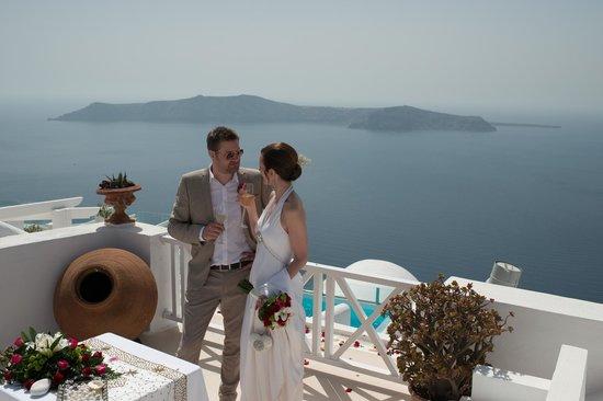 Heliotopos Hotel: Perfect wedding setting