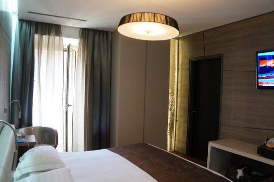 Berg Luxury Hotel: наш стандартный двухместный номер