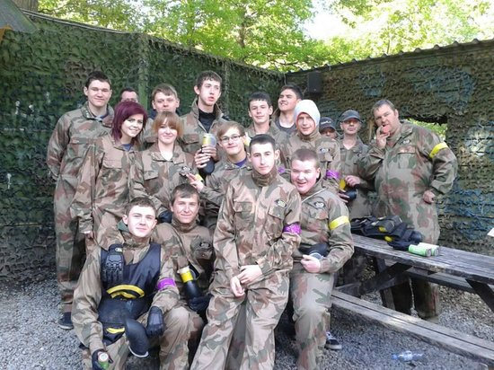 Delta Force Paintball Maidenhead: Luke's 18th Party 2nd June @ Leewood Wakefield