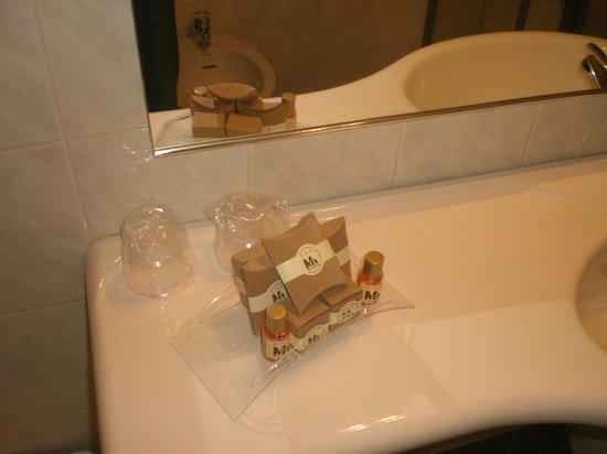Montini Hotel : dettaglio bagno