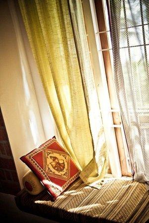 Ashtamudi Villas: Window seat