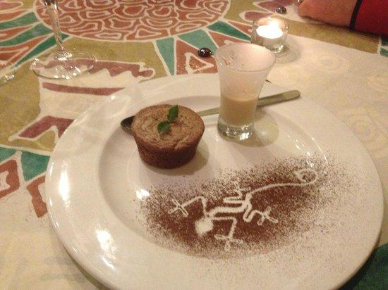 Londiningi Guesthouse: Le moelleux au chocolat