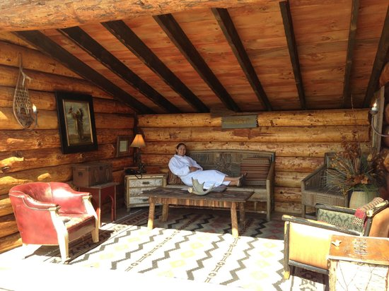 The Whiteface Lodge: One of the yurts