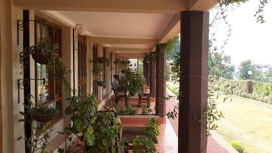 Annabella Hotel & Resort: views of the ground floor rooms