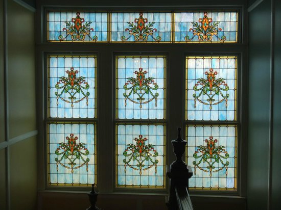 Sweet Cane Inn: Beautiful Stain Glass