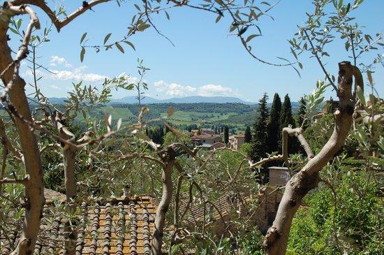 Agriturismo Poggiacolle: vue de San Gimignano
