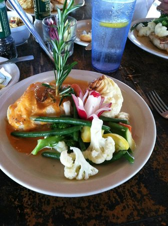 Isles of Capri Marina: Stuffed Grouper Entree' - an Early Bird Special for $15.95.