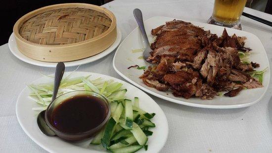 East: Half Crispy Duck to Share Between 3 On Gourmet Set Menu