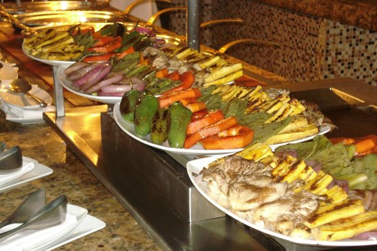 Wonderful food grilled fresh - Picture of Hilton Playa del