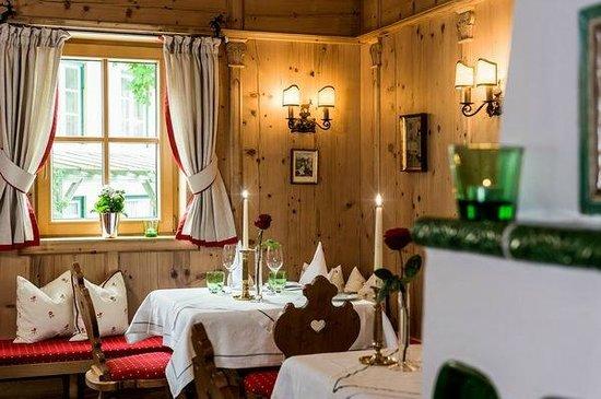 Landhotel Römerhof: die alte Bauernstube