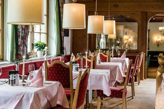 Landhotel Römerhof: Restaurant für Hausgäste