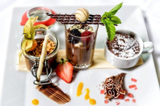 Landhotel Römerhof: Köstliche Dessertkreationen im Restaurant