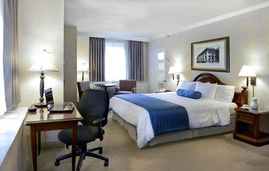 BEST WESTERN Ville-Marie Hotel & Suites: Deluxe King room
