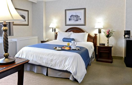 BEST WESTERN Ville-Marie Hotel & Suites: Queen room