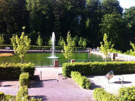 Romantik Hotel Landschloss Fasanerie: Lovely woodland setting.