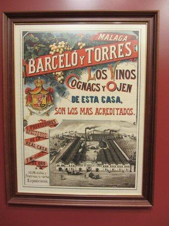 Museo del Vino Malaga : A Winery poster.