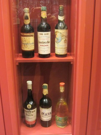 Museo del Vino Malaga : A selection of old wines & cognacs.