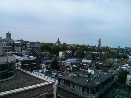 Chelsea Cloisters: view of the city from my room