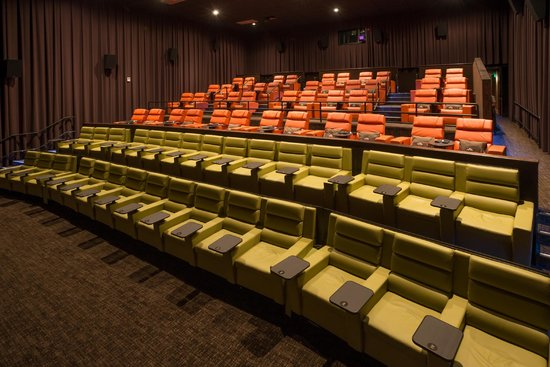 compare contrast watching movies at theaters