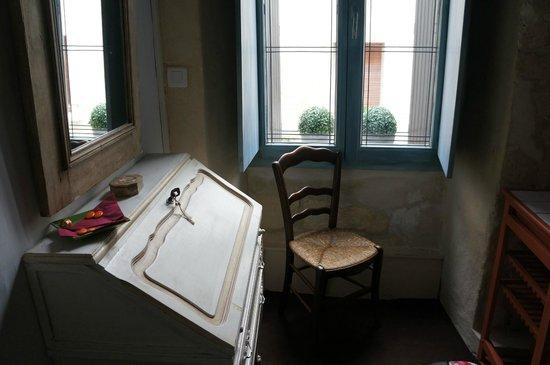 La Banasterie: room