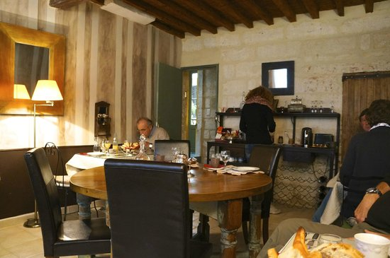 La Banasterie : breakfast
