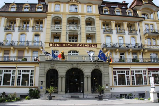 Hotel Royal St. Georges Interlaken - MGallery Collection: Front View of Hotel