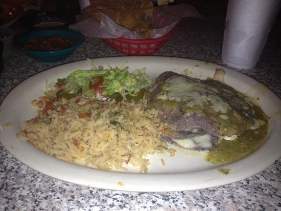 Chuy's: chuy special