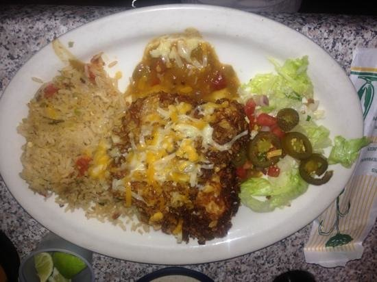 Chuy's: Elvis green chili chicken